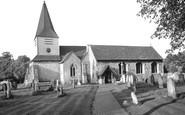 Great Bookham, St Nicolas Parish Church c1955