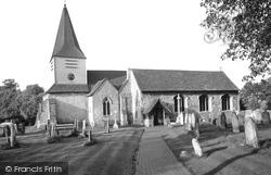 Great Bookham, St Nicolas' Parish Church c.1955