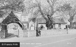 Great Bookham, St Nicolas Parish Church c.1960