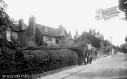 Great Bookham, Station Road 1924