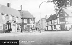 Great Bookham, The Cross Roads c.1955