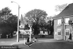 Great Bookham, The Crossroads c.1955