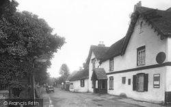 Great Bookham, The Crown Corner 1924
