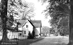 Great Bookham, The Lodge, Polesden Lacey c.1955