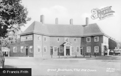Great Bookham, The Old Crown 1929