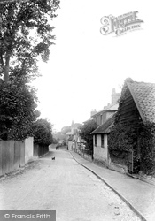 Great Bookham, Upper Road 1906