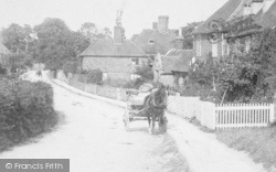 Great Chart, Cart In The Village 1901