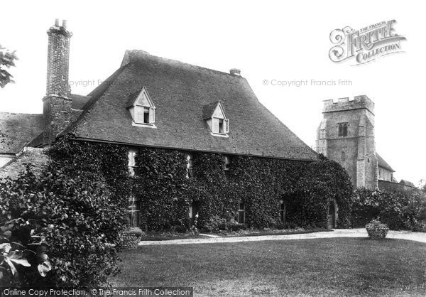 Photo of Great Chart, Court Lodge and Church 1908, ref. 60340