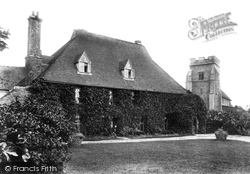Great Chart, Court Lodge And St Mary's Church 1908