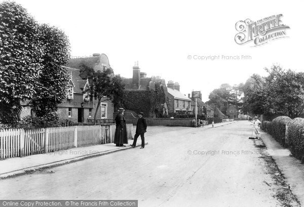 Photo of Great Chart, High Street 1908, ref. 60338