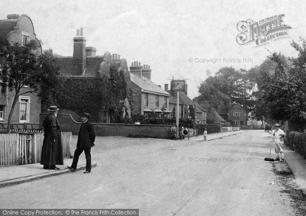 Photo of Great Chart, High Street 1908