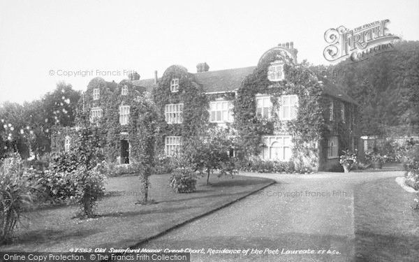 Photo of Great Chart, Old Swinford Manor 1901