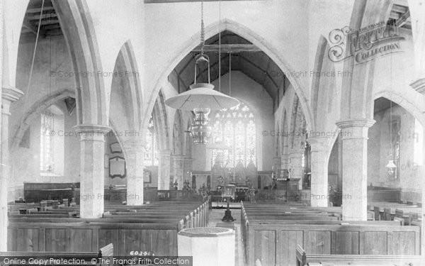Photo of Great Chart, The Church Interior 1908