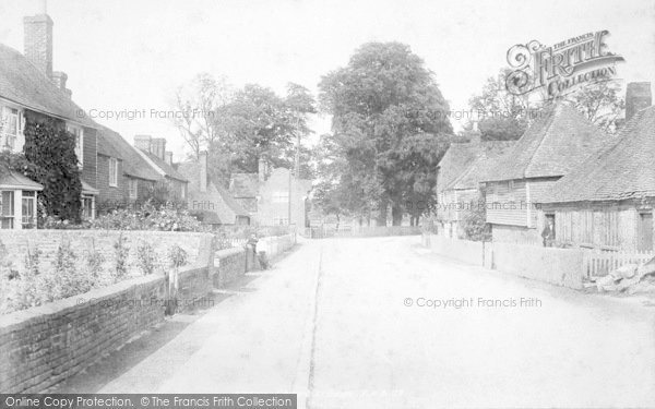 Photo of Great Chart, The Village 1901