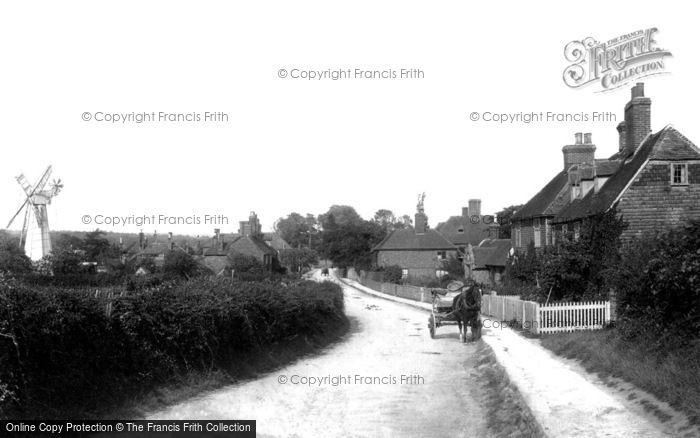Photo of Great Chart, the Village 1901, ref. 47551