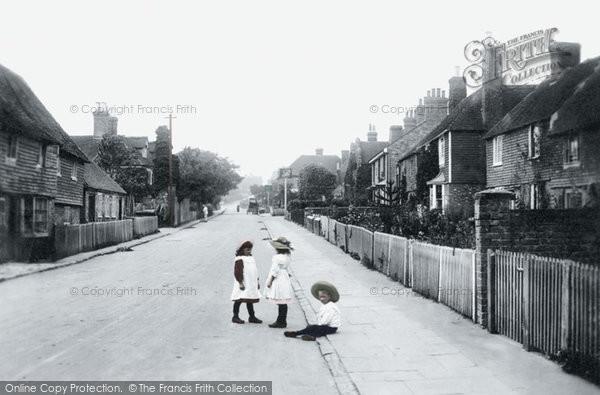 Photo of Great Chart, Village 1908