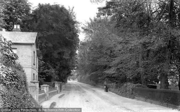 Great Cornard, Kings Hill 1906