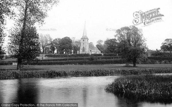 Great Cornard, Church 1895