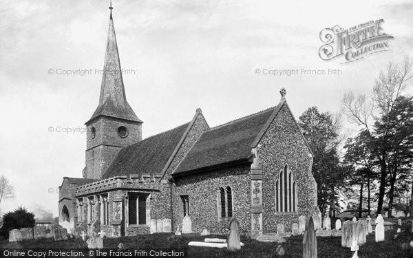 Great Cornard, the Church 1900