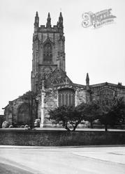 Great All Saints Church c.1955, Driffield