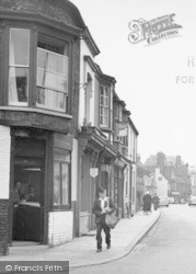 Great Driffield, Postman, Middle Street North c.1960