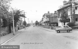 Great St John's Road c.1960, Driffield
