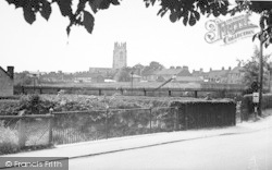 Great The Park And Church Tower c.1960, Driffield
