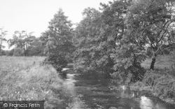 Great Driffield, The Trout Stream c.1955