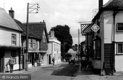Bishop Stortford Road c.1955, Great Dunmow