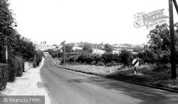 Braintree Road c.1955, Great Dunmow