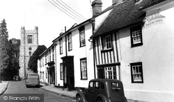 Church End c.1960, Great Dunmow
