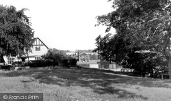 Doctor's Pond And Downs c.1955, Great Dunmow