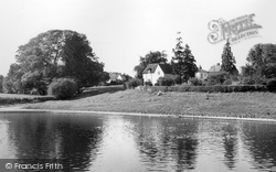 Doctor's Pond And Downs c.1960, Great Dunmow