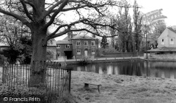 Doctor's Pond c.1965, Great Dunmow