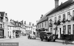 High Street c.1955, Great Dunmow