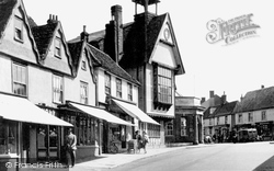 Market Place And Town Hall c.1955, Great Dunmow