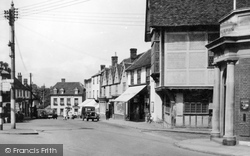 Market Place c.1950, Great Dunmow