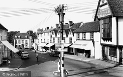 Market Place c.1960, Great Dunmow