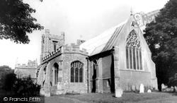 St Mary's Parish Church c.1965, Great Dunmow