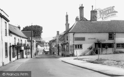 The Chequers, Stortford Road c.1955, Great Dunmow