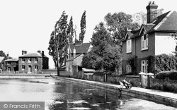 The Doctor's Pond c.1955, Great Dunmow
