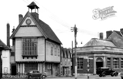 The Town Hall c.1955, Great Dunmow