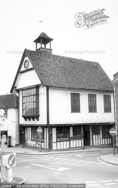 Photo of Great Dunmow, Tudor Town Hall c.1965