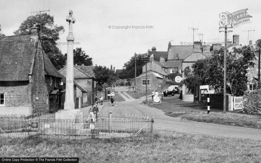 Great Easton, War Memorial and Village c1960