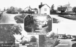 Great Ellingham, Composite c.1965