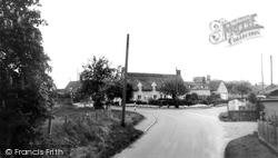 Great Ellingham, Post Office Corner c.1955
