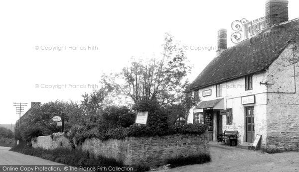 Great Haseley, the Post Office c1955