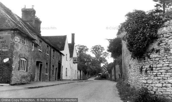 Great Haseley, the Village c1955
