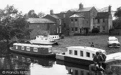 Boatyard c.1955, Great Haywood