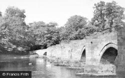 Great Haywood, Essex Bridge c.1955